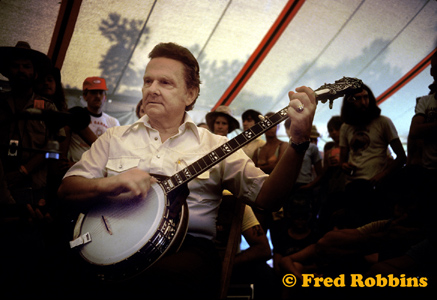 Berkshire Mountain BGF banjo workshop 1980 - courtesy Fred Robbins