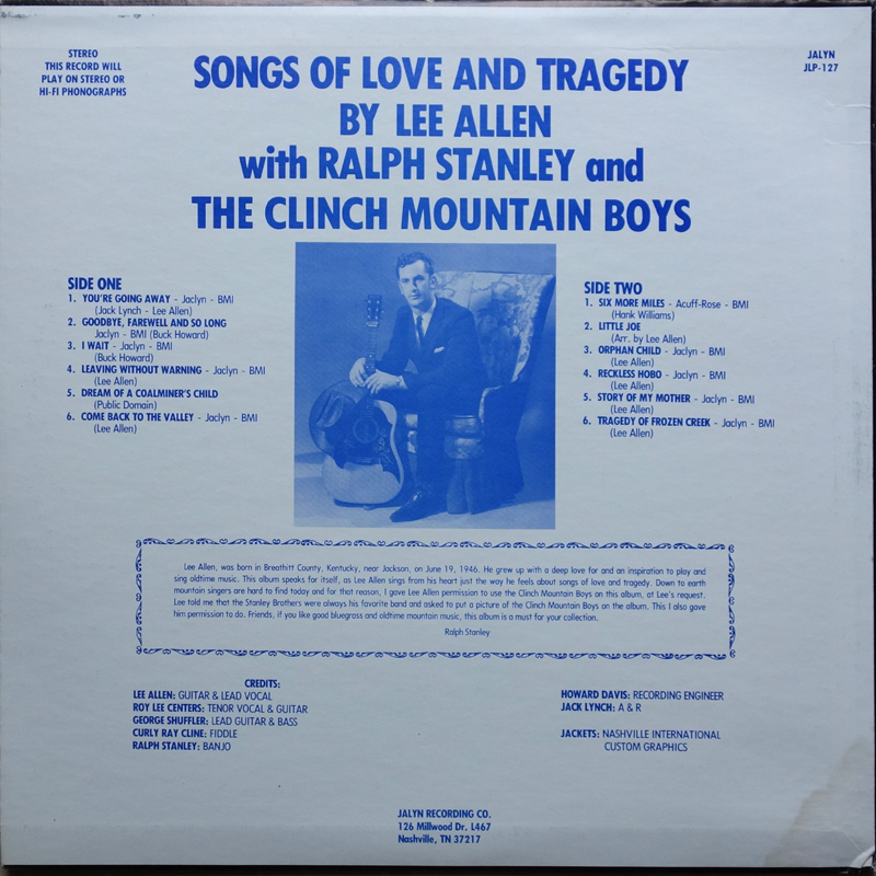 CME: Songs Of Love And Tragedy