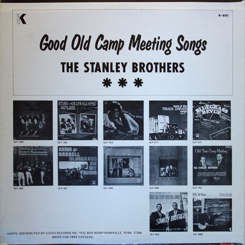 CME: Good Old Camp Meeting Songs