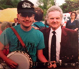 Kenny Bohling and Ralph Stanley with Stanleytone #25 (Chrome) (courtesy Kenny Bohling)