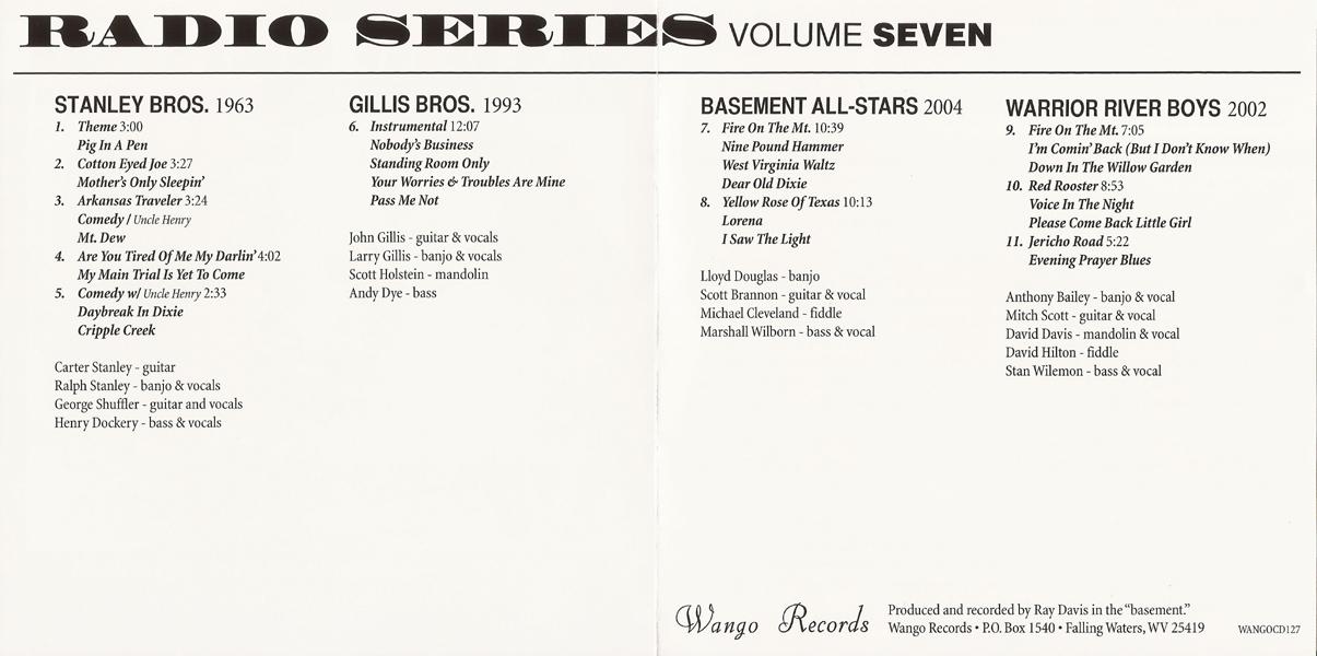 CME: Radio Series Vol  7